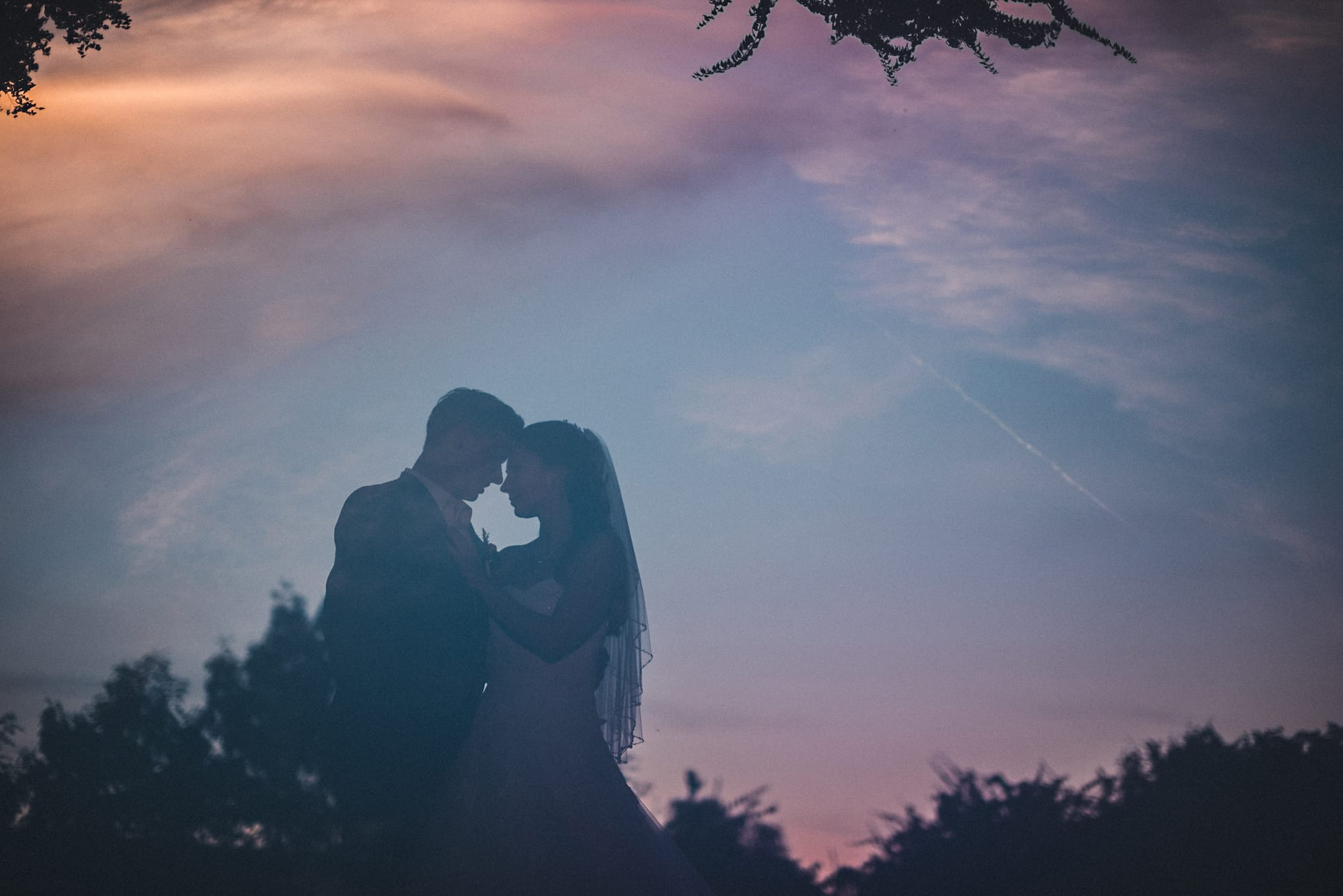 08 double Exposure Wedding photography sundown - Doppelbelichtungen in der Hochzeitsfotografie
