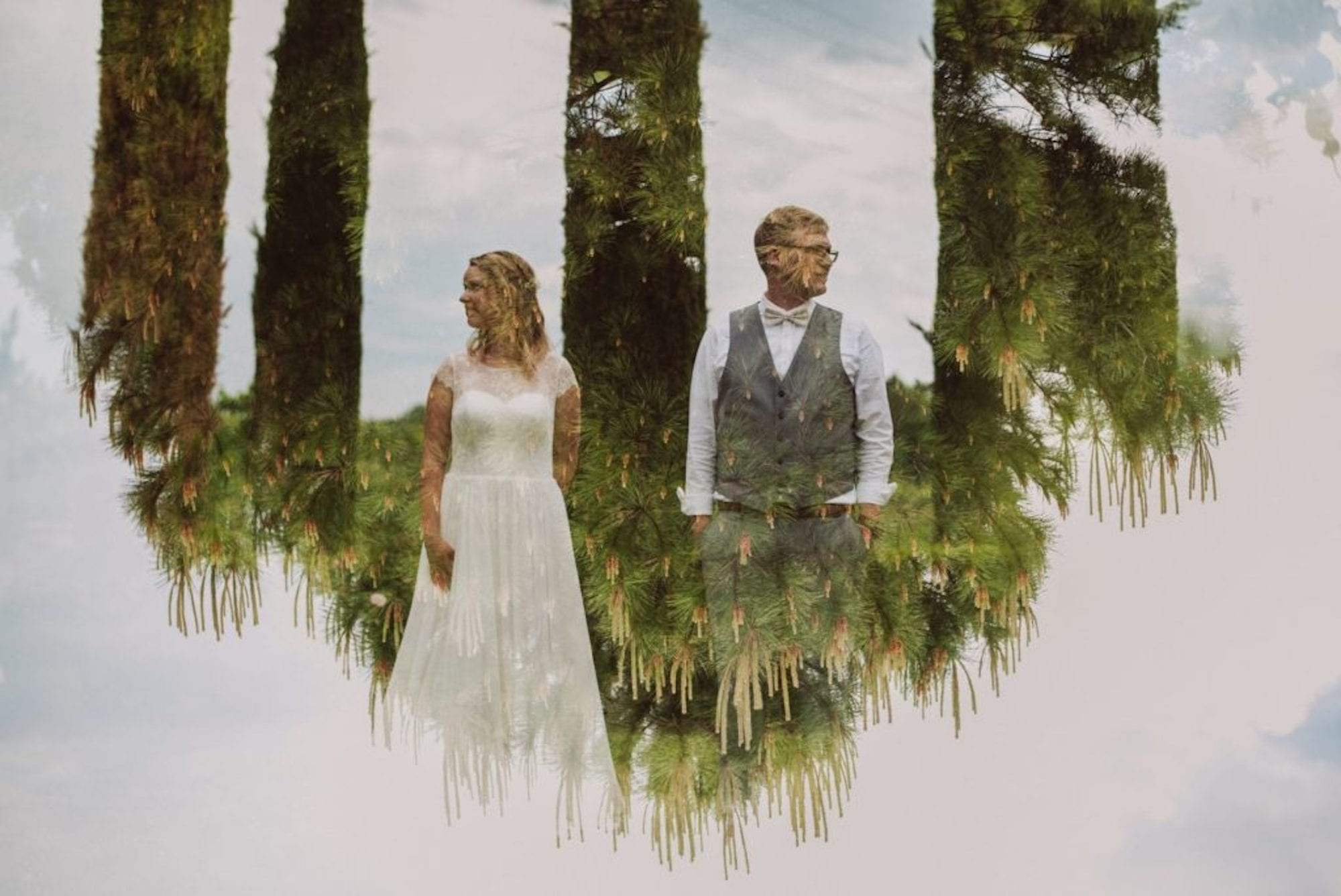 09 double Exposure Wedding photography  - Doppelbelichtungen in der Hochzeitsfotografie
