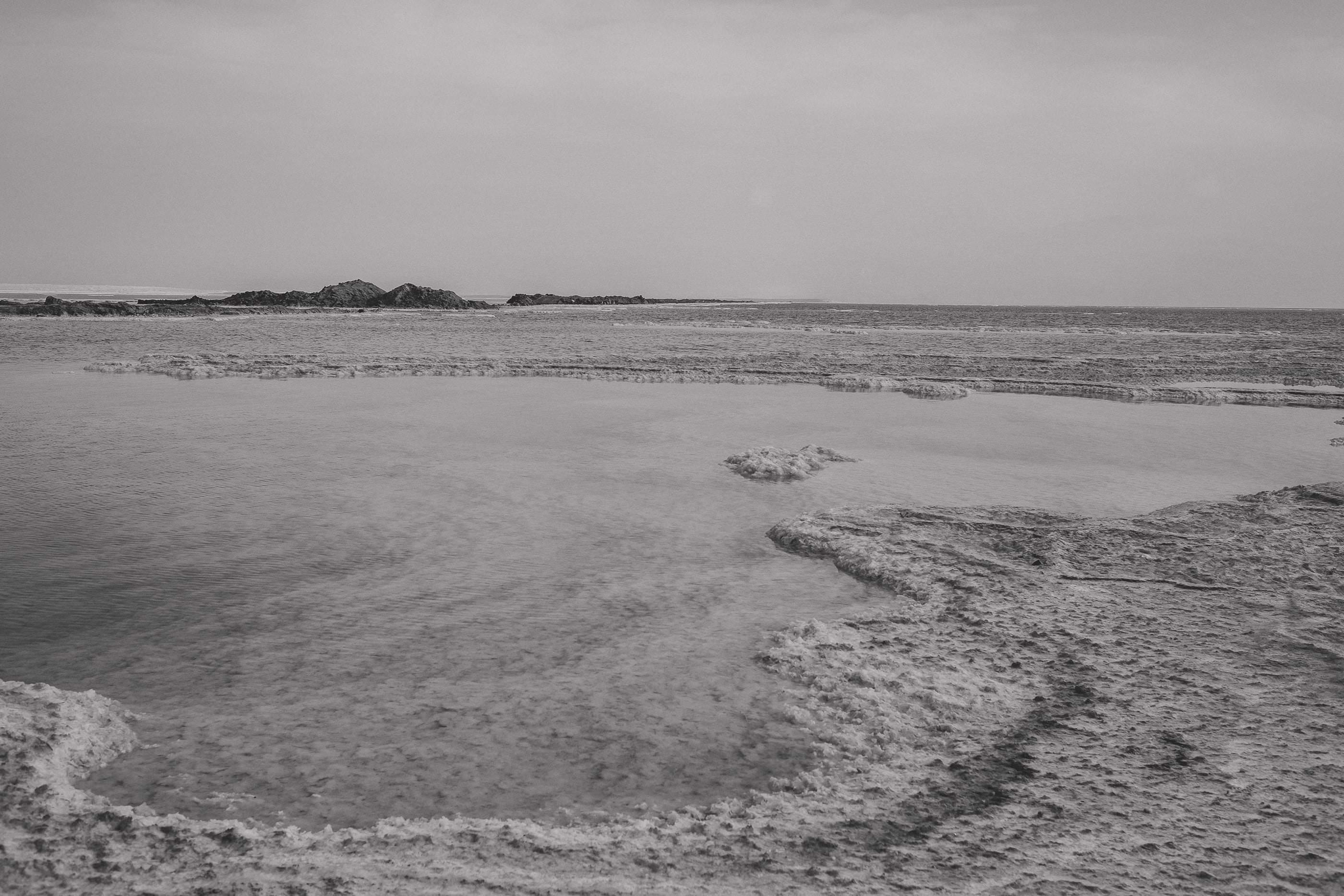 0103 israel the dead sea blackwhite - Israel - Tel Aviv - The Dead Sea - Jerusalem