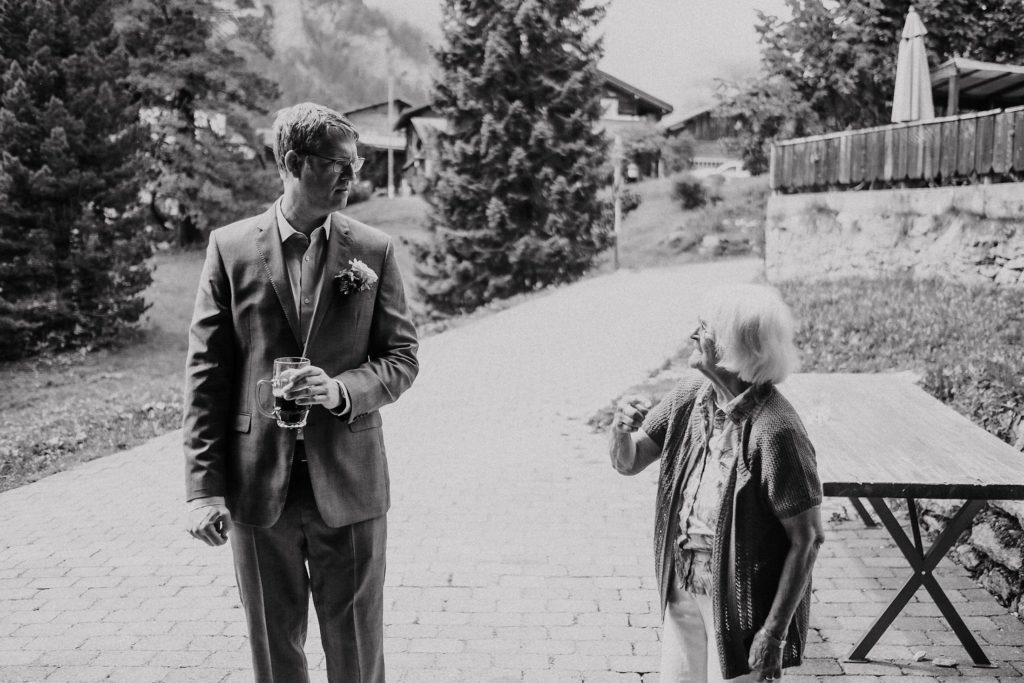 wedding photographer switzerland gimmelwald mother and son