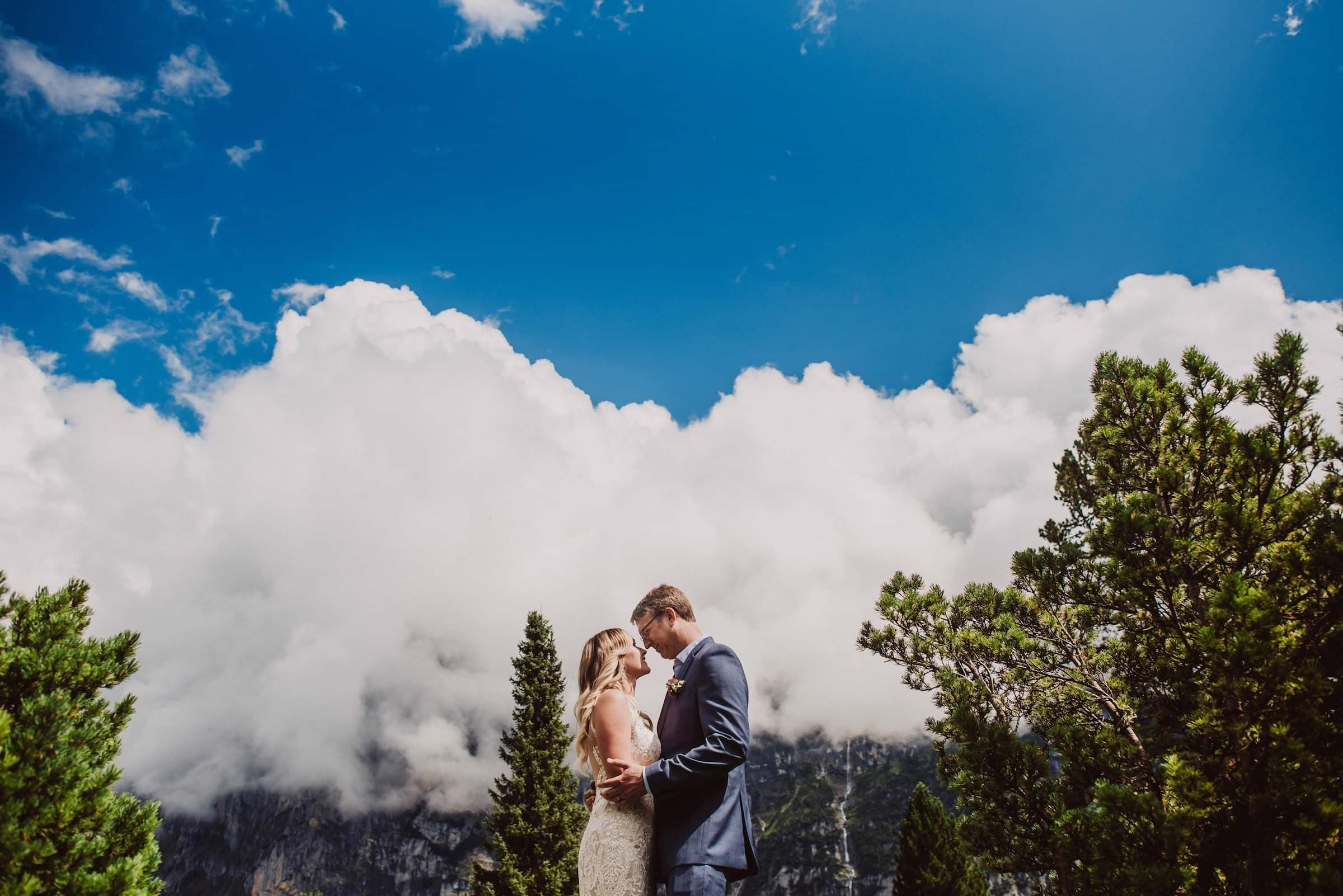 50 mountain wedding switzerland portrait time - Mountain Wedding Switzerland
