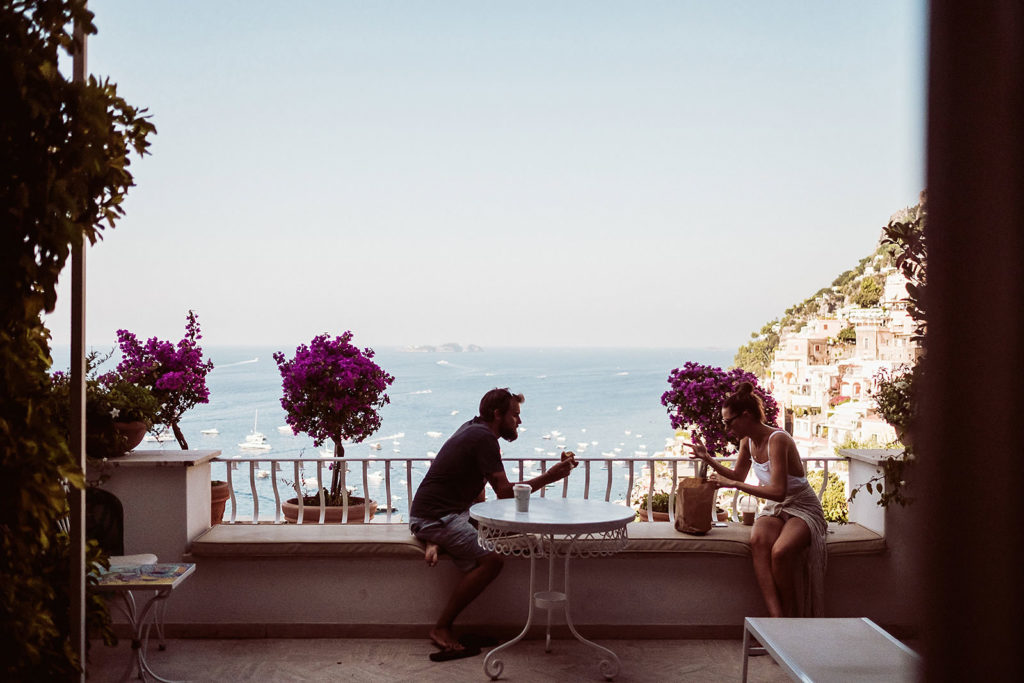 0121 wedding photographer positano breakfast